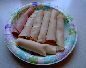 low carb meat roll ups